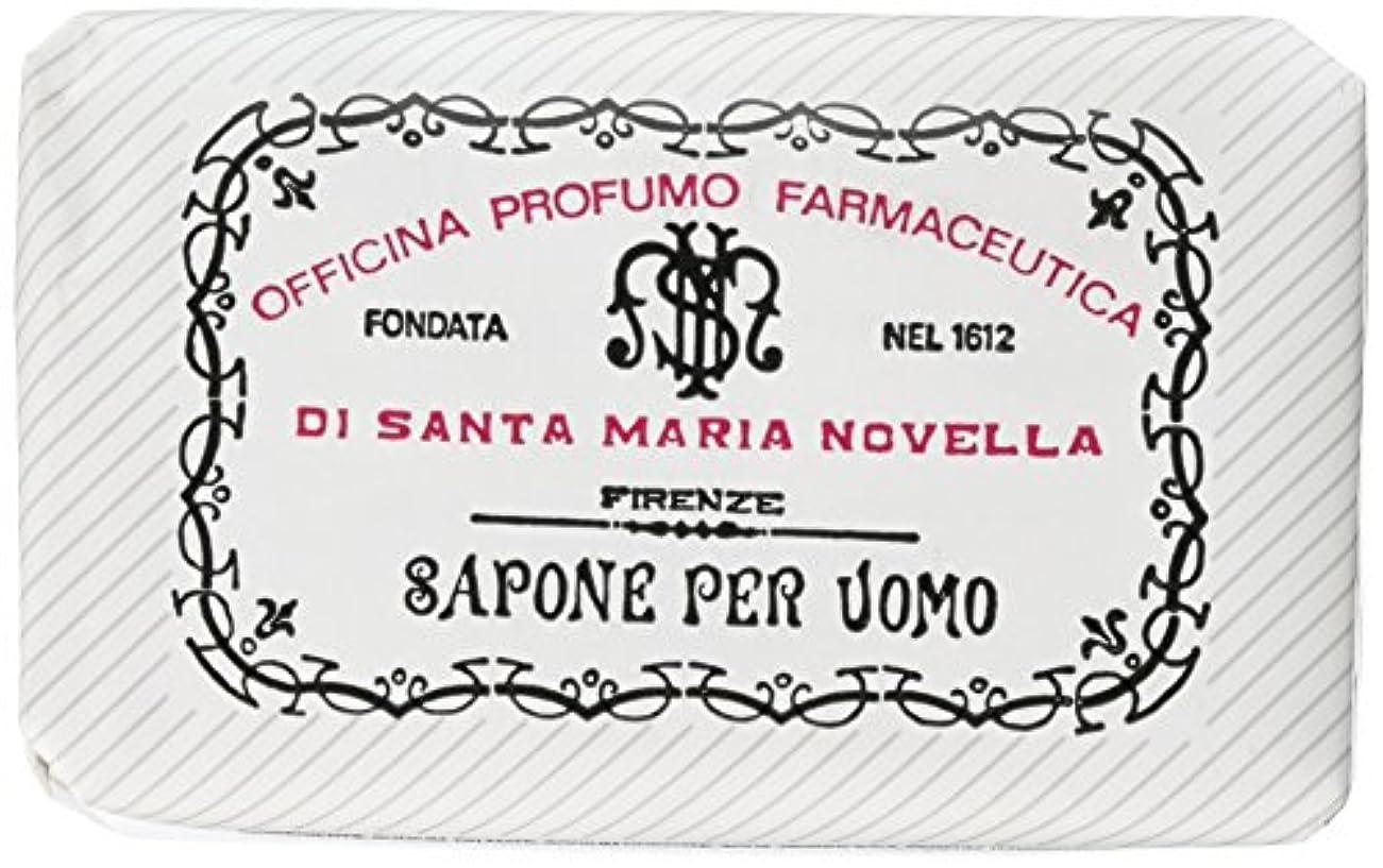 紳士気取りの、きざな彫る木曜日サンタマリアノヴェッラ メンズソープ ベティベール 130g [並行輸入品]