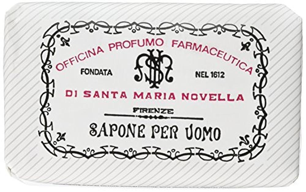 彫刻家注ぎます作るサンタマリアノヴェッラ メンズソープ ベティベール 130g [並行輸入品]