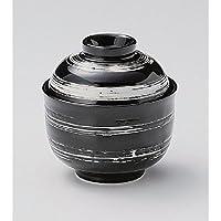 ボウルutw305–26–284[ 3.9X 4インチ] Japaneceセラミックホワイトブラシ円菓子ボウル食器