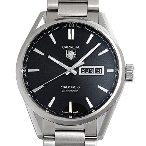 [タグホイヤー] TAG HEUER 腕時計 カレラ キャリバー5 デイデイト ブラック WAR201A.BA0723 メンズ 新品 [並行輸入品]
