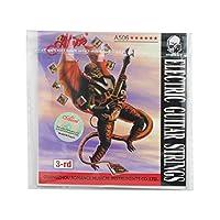 Alice G-3rd超軽い張力、コートスチールエレクトリックギター弦、ニッケルメッキボールエンド
