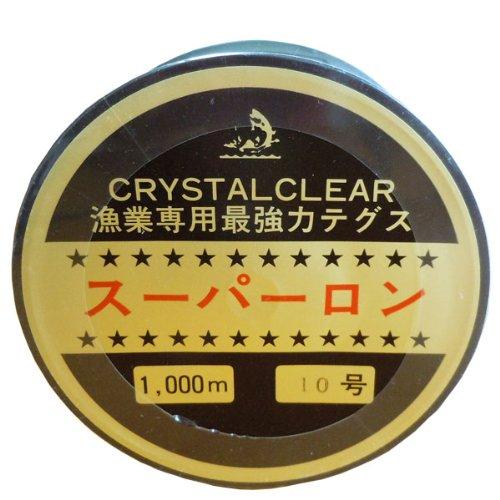 RoomClip商品情報 - [ テグス・釣り糸 ]ボビン巻ナイロンテグス10号/1000m/透明