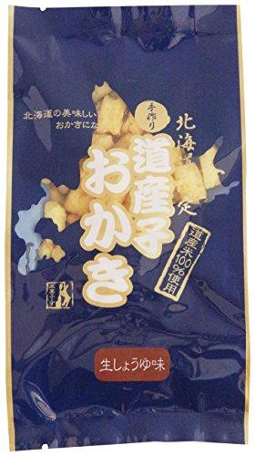 北海道米菓フーズ 道産子おかき生しょうゆ味 100g×10袋