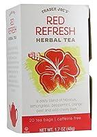 Trader Joes–Herbal Tea–Redリフレッシュ–20Tea Bags