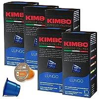 ネスプレッソ カプセル 互換 キンボ コーヒー ルンゴ 1箱 /10 カプセル ×5箱 合計 50 カプセル kimbo
