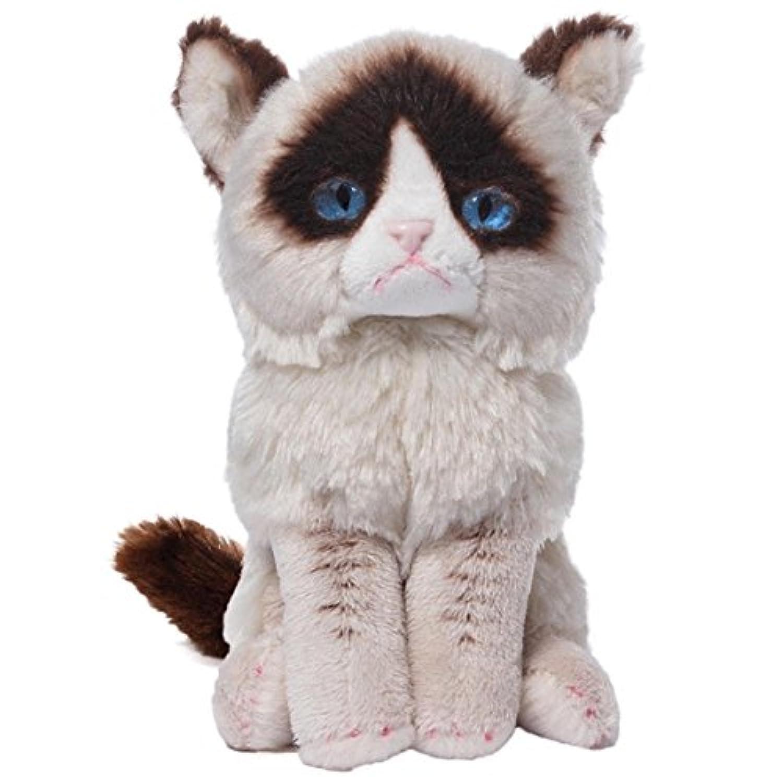 ノーブランド品 グランピーキャット Grumpy Cat グッズ 動物 不機嫌な猫 ネコ おもちゃ ビーンバック ぬいぐるみ [並行輸入品]