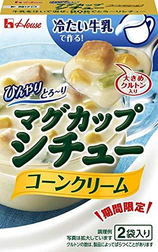 ハウス ひんやりとろ~りマグカップシチューコーンクリーム 30g(15g×2) ×10個