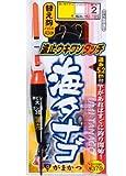 がまかつ(Gamakatsu) 波止ウキワンタッチ海タナゴ仕掛 HU105 4-0.6