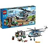 レゴ (LEGO) シティ ポリスヘリコプターとドロボウのかくれが 60046