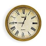 ヴィンテージの素朴な時計の収納ボックスのパーソナリティのリビングルームミュートの壁時計の壁時計の宝石類安全な収納ボックス、リビングルームの寝室のバスルームの壁時計に適して