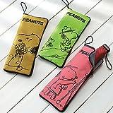 マイクロファイバー傘カバー 傘入れ袋(スヌーピーピンク) 超吸水 折り畳み 傘用 キャラクター スヌーピー  (スヌーピーピンク)