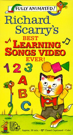 Richard Scarry - Best Learning Songs Video Ever [VHS] [Import]