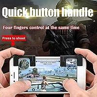 2ピース携帯電話ゲーム物理ジョイスティックゲームコントローラ支援ツールシューティングゲームアクセサリー用pubg stg fps tpsゲーム