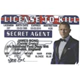 Daniel Craig Fun Fake ID License by Signs 4 Fun [並行輸入品]
