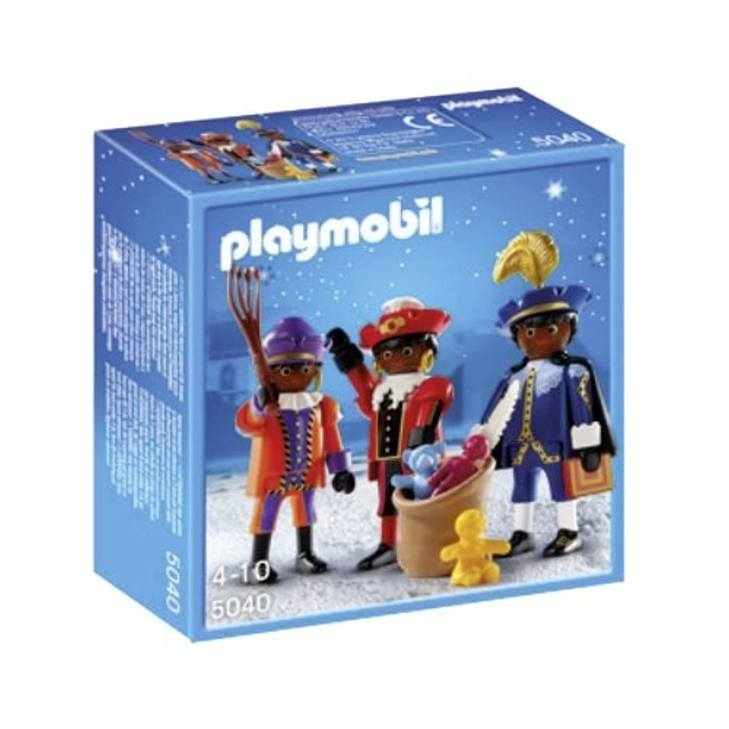 Playmobil 5040 - X-mas / Christmas - 3 Helper from Santa Claus / Nicolaus by Playmobil [並行輸入品]