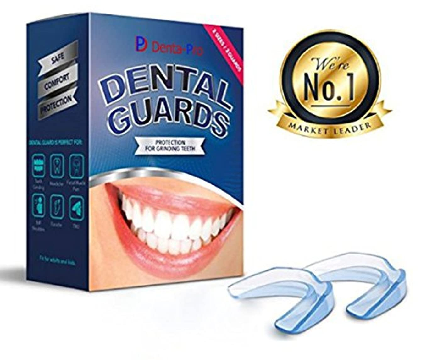効能運命的な居間Dental-Pro 2個セット デンタルマウスピース マウスピース 噛み合わせ 歯ぎしり いびき 防止 予防 歯列矯正 歯並び 矯正