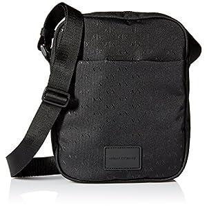 [A Xアルマーニ エクスチェンジ]AXロゴ ミニショルダーバッグ MAN'S CROSSBODY BAG NERO