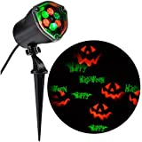Strobing LightShow LED Chasing Happy Halloween Strobe Spotlight Whirl-a-Motion [並行輸入品]
