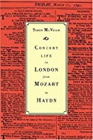 Concert Life in London from Mozart
