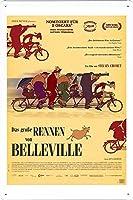 映画の金属看板 ティンサイン ポスター / Tin Sign Metal Poster of Movie The Triplets of Belleville #4