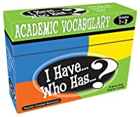I Have Who Has Gr 1-2 Academic