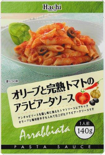 ハチ オリーブと完熟トマトのアラビアータソース 140g×12個
