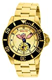 Invicta Men's 44mm Gold-Tone Steel Bracelet & Case Quartz Beige Dial Analog Watch 27418
