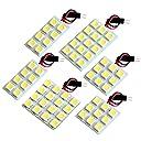 【断トツ195発 】 BH系 レガシィツーリングワゴン(レガシー) LED ルームランプ 6点セット H10.6~H15.5 スバル 基板タイプ 圧倒的な発光数 3chip SMD LED 仕様 室内灯 カー用品 HJO