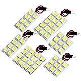 【断トツ195発!!】 BH系 レガシィツーリングワゴン(レガシー) LED ルームランプ 6点セット [H10.6~H15.5] スバル 基板タイプ 圧倒的な発光数 3chip SMD LED 仕様 室内灯 カー用品 HJO