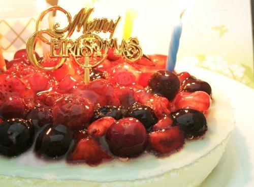 クリスマスケーキ 4種のベリー チーズケーキ (お届け日12...