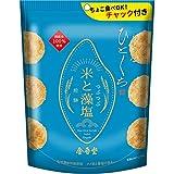 金吾堂製菓 おすきなひとくち米と藻塩煎餅つぶつぶ100g×12袋
