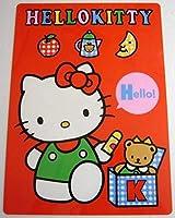 キティ 下敷き 1991年 レトロ 赤色 キャラ グッズ