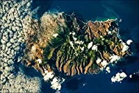 Hypothesis Saint Helena Island, Nasa View ホームバスルームとカフェバーパブ、壁の装飾用の30x40cmティンサインポスター ブリキ看板