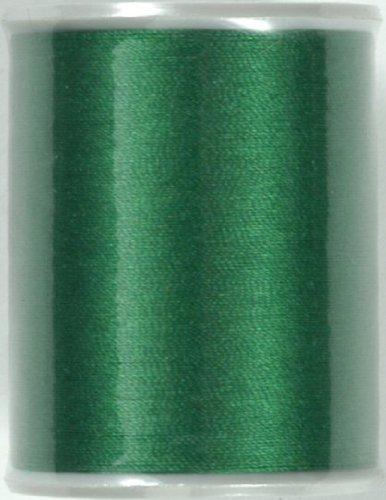 WELL 絹ミシン糸 緑(95)