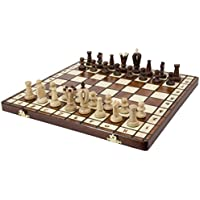 Royal 36 European Wood International Chess Set [並行輸入品]