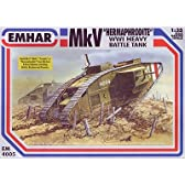 EMHAR(エマー) 1/35  英 マークV 菱形戦車 【EM35405(EM4005)】