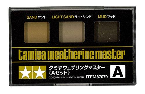 タミヤメイクアップ材シリーズ No.79 タミヤ ウェザリングマスター A (サンド) 87079