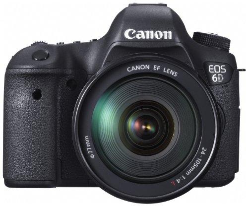 Canon デジタル一眼レフカメラ EOS 6D・EF24-105L レンズキット 約2020万画素フルサイズCMOSセンサー DIGIC5+(プラス) EOS6D24105ISLK