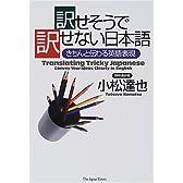 訳せそうで訳せない日本語―きちんと伝わる英語表現