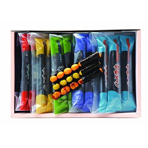海苔菓子 風雅巻き 5種類15本入 華日和(はなびより)(HB-10)