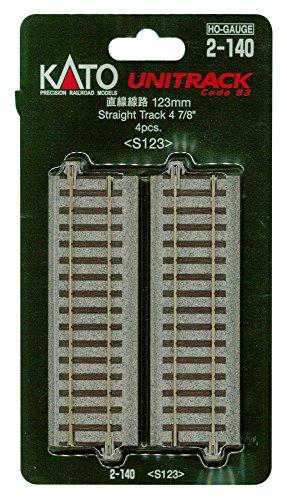 HOユニトラック線路 直線線路 123mm (4本入) #2-140
