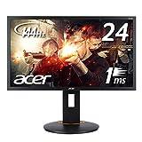 【Amazon.co.jp限定】Acer ゲーミングモニター ディスプレイ XF240Hbmjdpr (24インチ/144Hz/TN/非光沢/フルHD/1ms/DVI-D(Dual Link対応)・HDMI v1.4・DisplayPort v1.2)