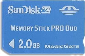 SanDisk SDMSPD-2048-J60 メモリースティック PRODuo 2GB