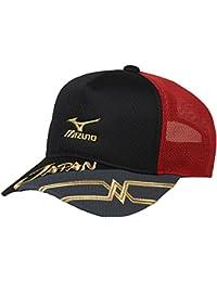 (ミズノ)MIZUNO テニスウェア JAPAN キャップ 62JW7X11[ユニセックス]