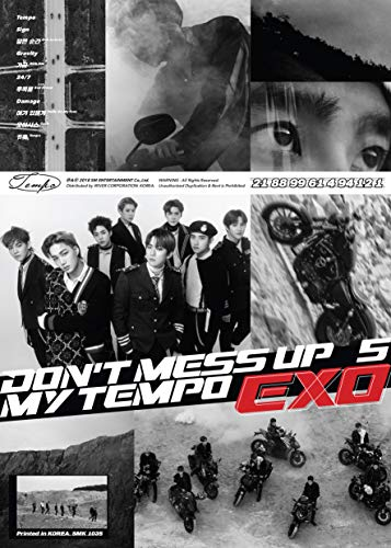 EXO-DON`T MESS UP MY TEMPO-正規5nd(Allegro/Moderato/Andante Ver.ランダム)(輸入盤)