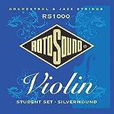 Rotosound RS1000 Silver Wound Violin Strings (Economy Set) [並行輸入品]