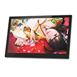 moonka 17.3インチ IPS広視野角 FullHD デジタルフォトフレーム / 1920x1080 IPSフルHD解像度プレミアムモデル/写真・動画・音楽再生・HDMI入力
