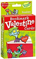 Peaceable Kingdom 28 Card Pop-Out Zombie Bookmark Valentines with Envelopes [並行輸入品]