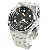 CITIZEN シチズン Q&Q 腕時計 アナデジ 5局電波ソーラー MD02-205 ブラック