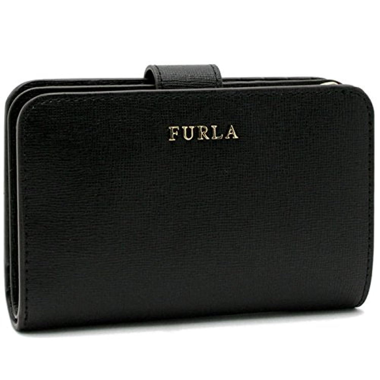 (フルラ) FURLA【BABYLON M】 二つ折り財布ONYX (ブラック)872836 P PR85 B30 O60 [並行輸入品]